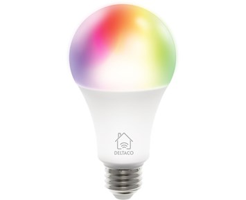 Deltaco Smart E27 RGB Bulb 9W 810lm 1-pack