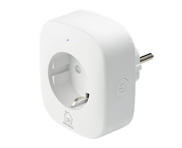 Deltaco Smart Plug Energy Monitor White