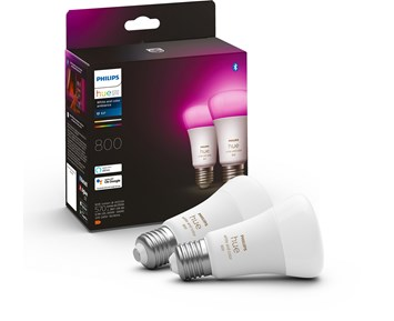Philips HUE 9W A60 E27 EUR 2Pack White/Color Ambiance