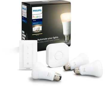 Philips HUE 9W A60 E27 EUR 3set White