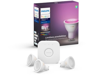 Philips HUE 5.7W GU10 EUR 3set