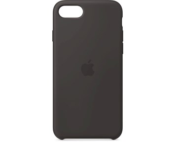 Apple iPhone SE Silicone Case - Black