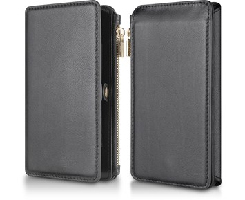 Andersson Multifunctional Leather Wallet Case Black for Apple iPhone X/XS