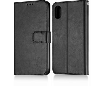 Andersson Premium Wallet Case Black for iPhone X/XS