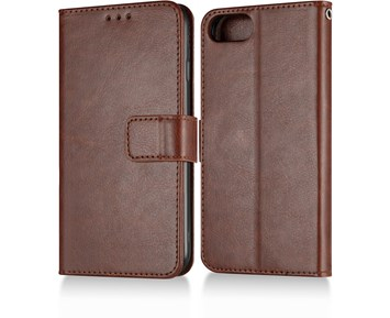 Andersson Premium Wallet Case Brown for iPhone 7/8