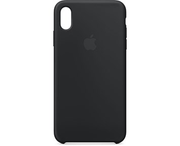 Apple iPhone XS Max Silicone Case - Black