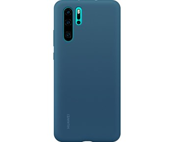 Huawei Silicone Cover Denim Blue P30 Pro