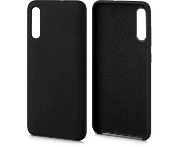 Andersson Silicone Case w/ Microfiber Black for Samsung A70