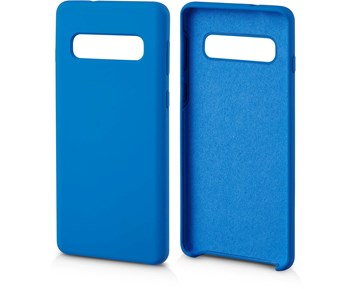 Andersson Silicone Case w/ Microfiber Blue for Samsung S10