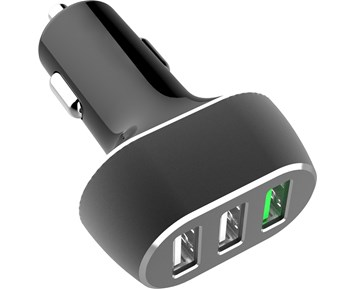 Andersson Car USB Charger 1xQC3.0 + 2xUSB-A 2.4A, total 8A
