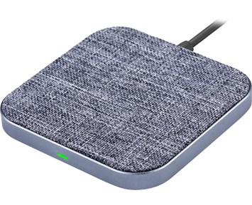 Andersson Wireless charger textile/aluminum