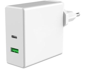 Andersson Wall charger USB C PD (60W) + QC3.0 Effektiv