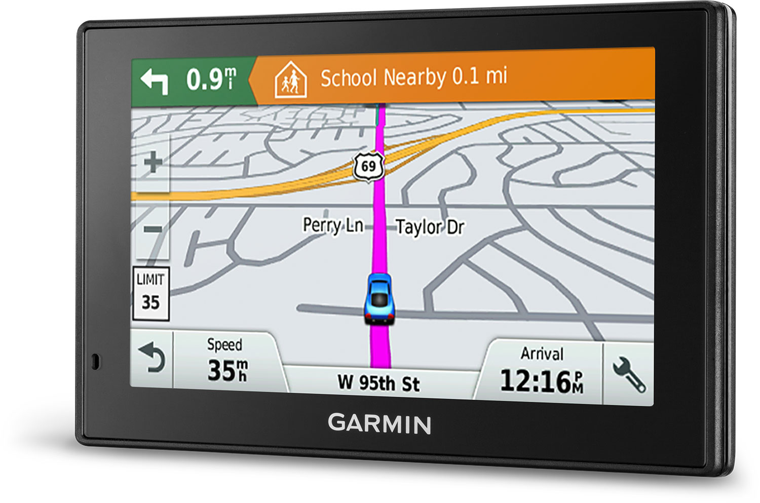 garmin drivesmart 51 full eu lmt d stemmestyrt 5 gps med wifi for navigasjon over hele europa. Black Bedroom Furniture Sets. Home Design Ideas
