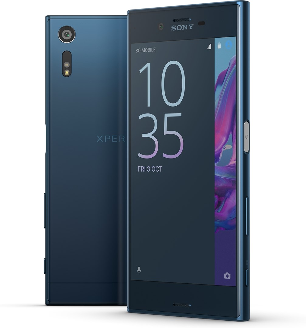 sony xperia xz forest blue sony xperia xz. Black Bedroom Furniture Sets. Home Design Ideas