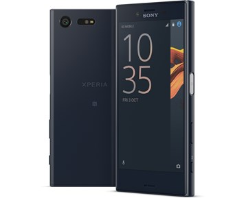 art telefon og gps mobiltelefon sony sony xperia x compact black .