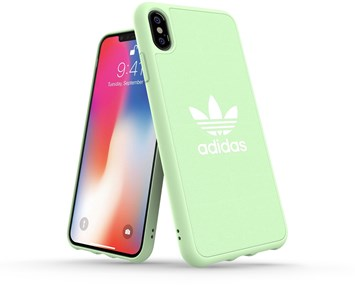 Bilde av Adidas Canvas Moulded Case Clear Mint Iphone Xs Max