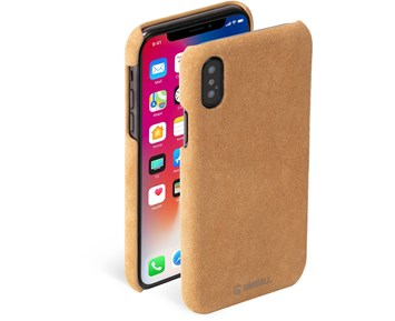Krusell Broby Cover Cognac iPhone XS Max