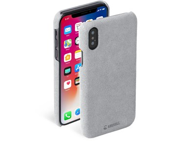 Krusell Broby Cover Grey iPhone XS