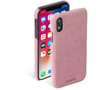 Krusell Broby Cover Pink iPhone XS