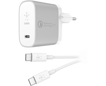 Bilde av Belkin 27w - Qc4 Usb-c Home Charger + Usb-c Cable
