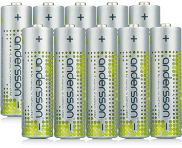 Andersson AA alkaline battery 10pcs