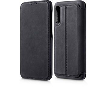 Samsung Galaxy J4 flip deksel (Soft Wallet) Svart Nedis