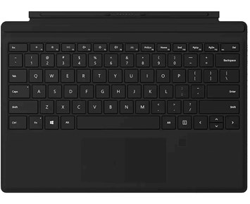 Microsoft Surface Pro Signature Type Cover Black with fingreprint reader Nordic
