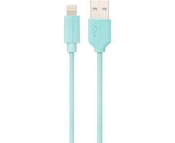 ON Lightning Cable Turquoise 0,25M 1A