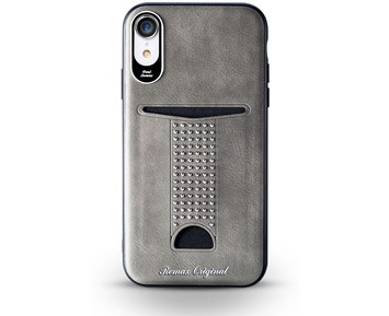 REMAX Milxuan series case Grey iPhone XR