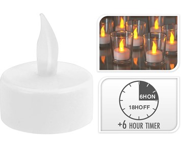 Others Tealight led flickering candle 4pcs