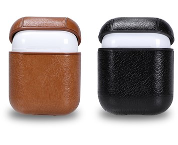 Andersson Airpods Case PU Leather Black