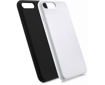 Andersson Silicone Case w/ Microfiber Black for iPhone 7/8 Plus