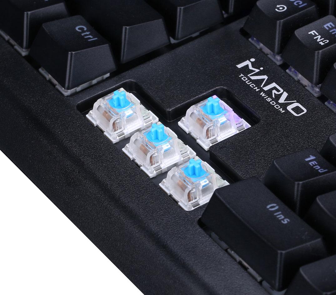 Marvo KG959G gaming keyboard Mekanisk gamingtastatur med