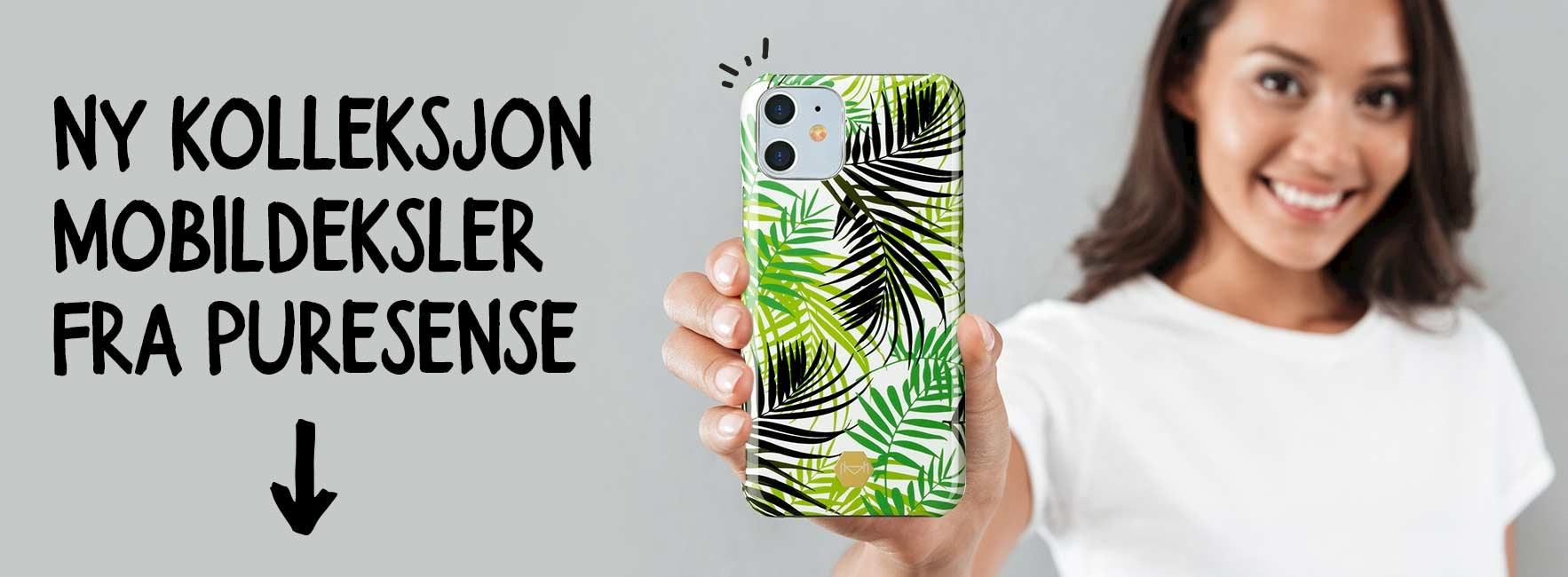 Hvilket mobildeksel eller lommebokfutteral passer din stil?
