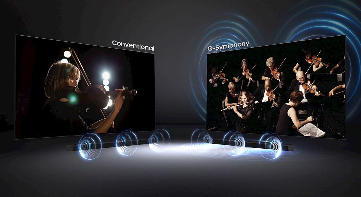 Samsung QLED - bilde og lyd i en uslåelig kombinasjon