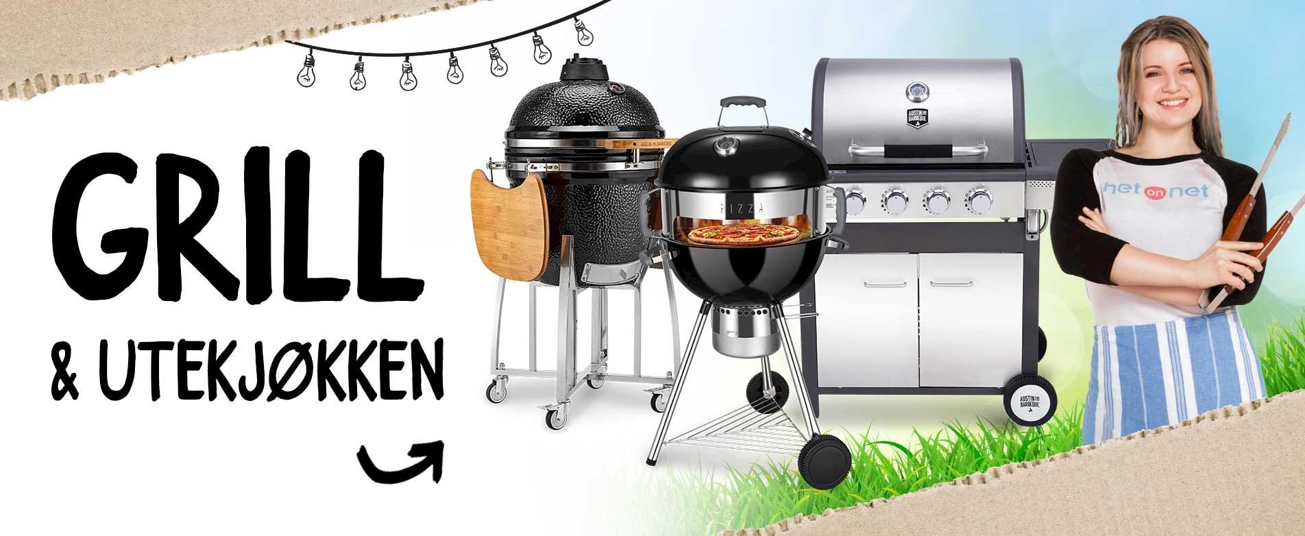 Bli en grillmester med produkter rett fra lagerhylla!