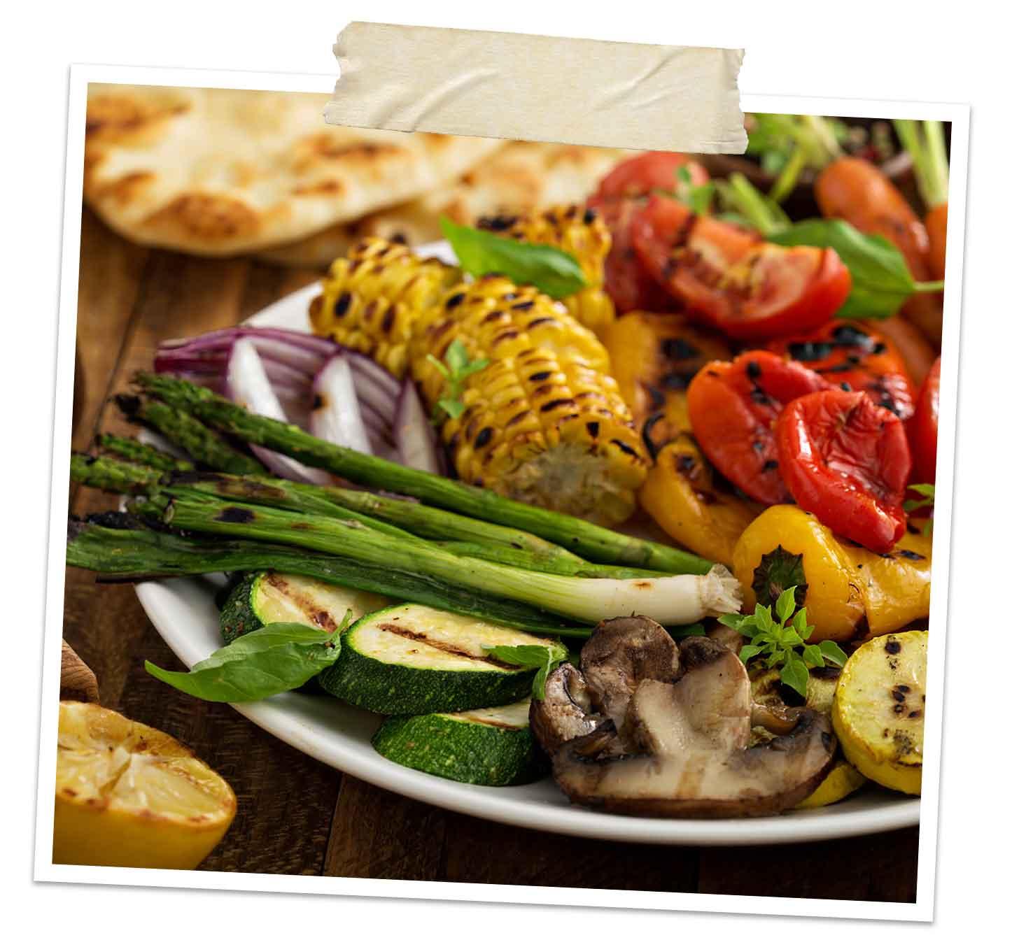 vegetar grillmat