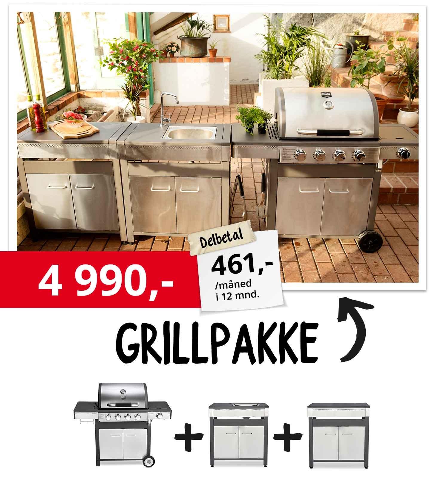 Grillpakke 6490,-