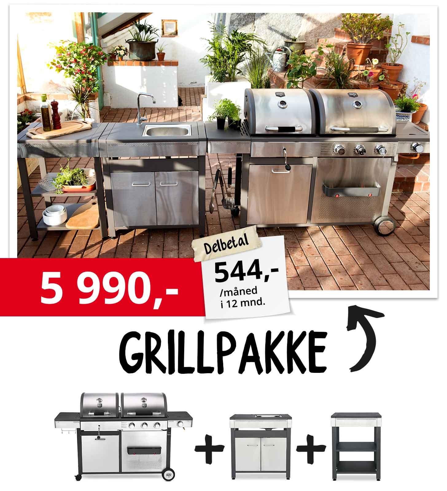 Grillpakke 6990,-