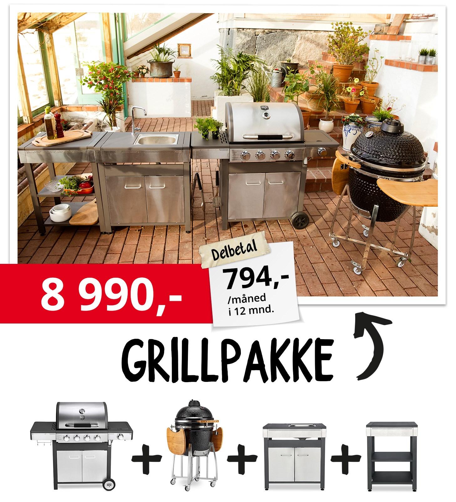 Grillpakke 8990,-