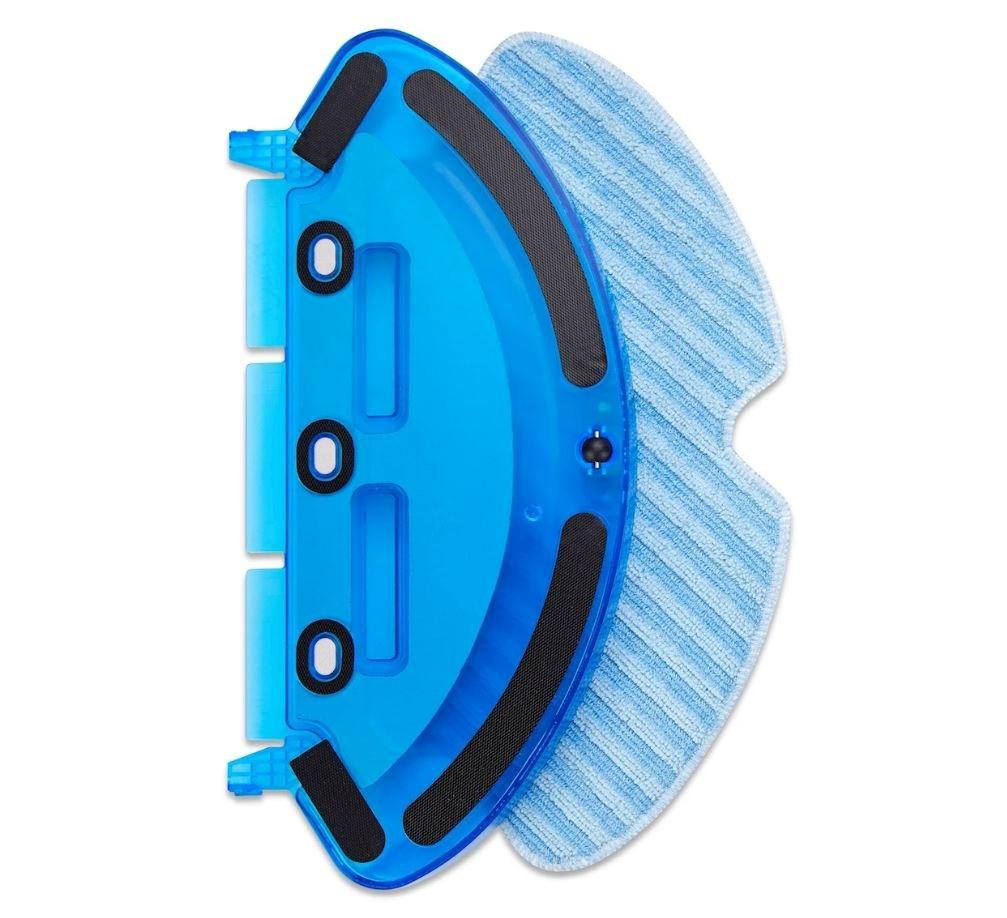 Våtmoppfunksjonen er et stort pluss ved denne selvgående robotstøvsugeren.