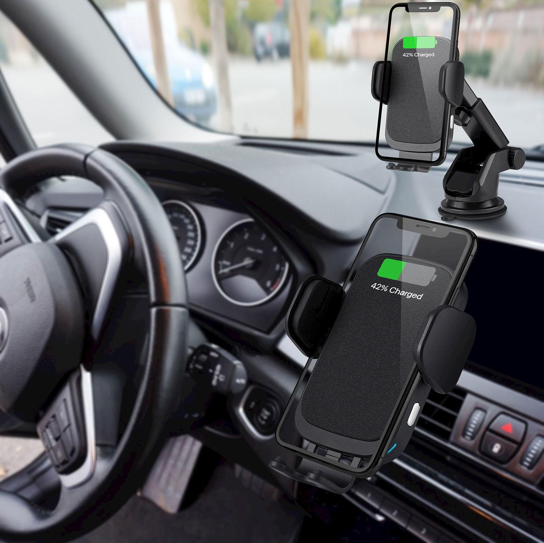 trådløs mobillader til bil
