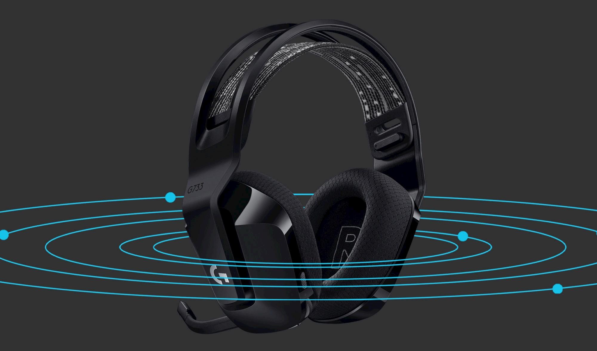 Logitech G733 Lightspeed headset