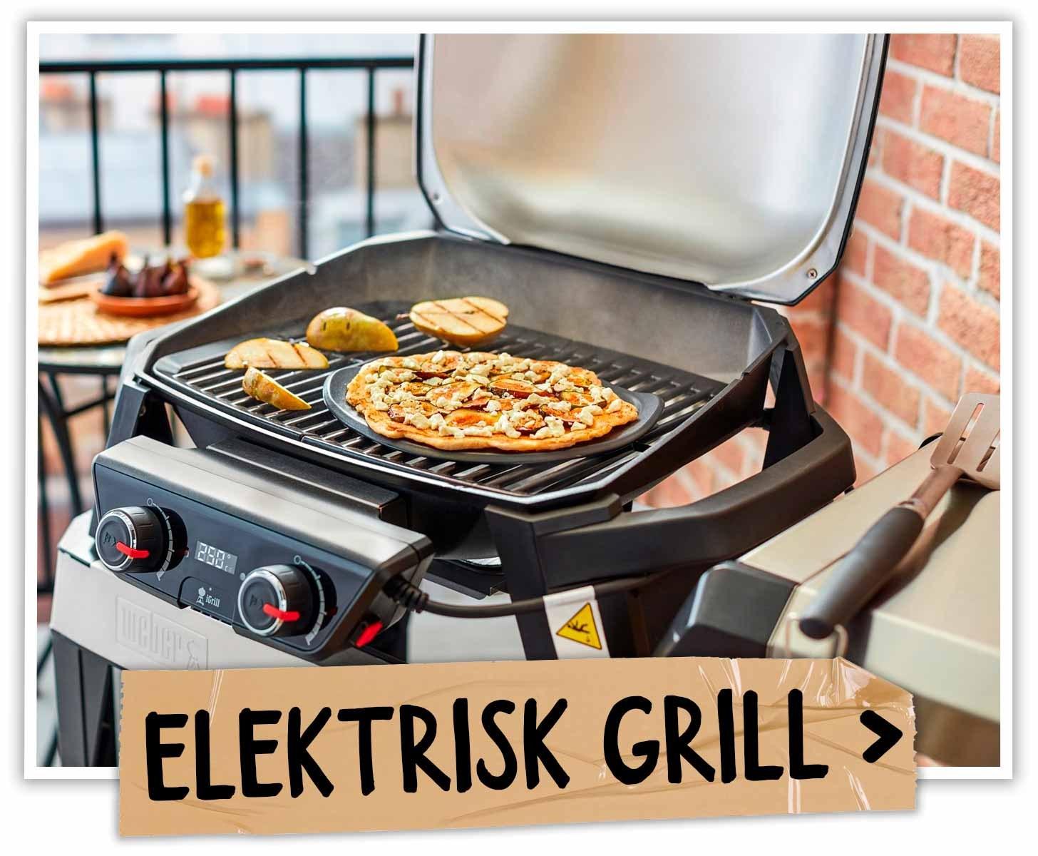 Grillskole - Elektrisk grill