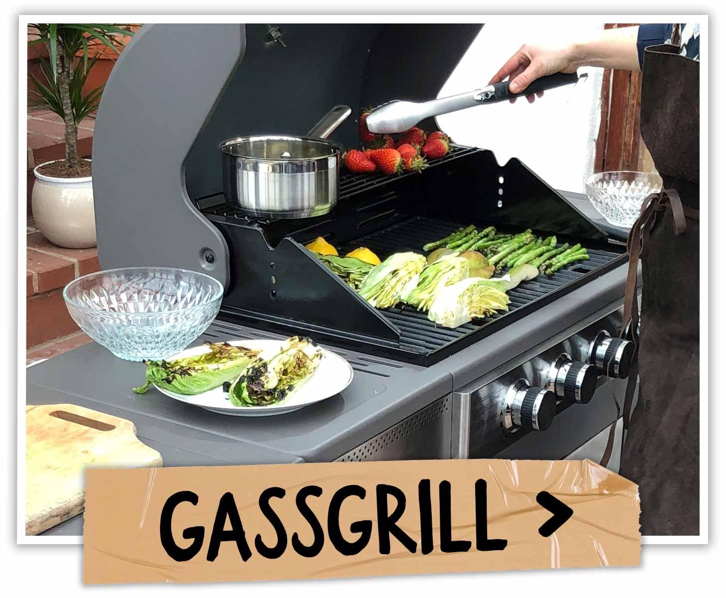 Grillskole - Gassgrill