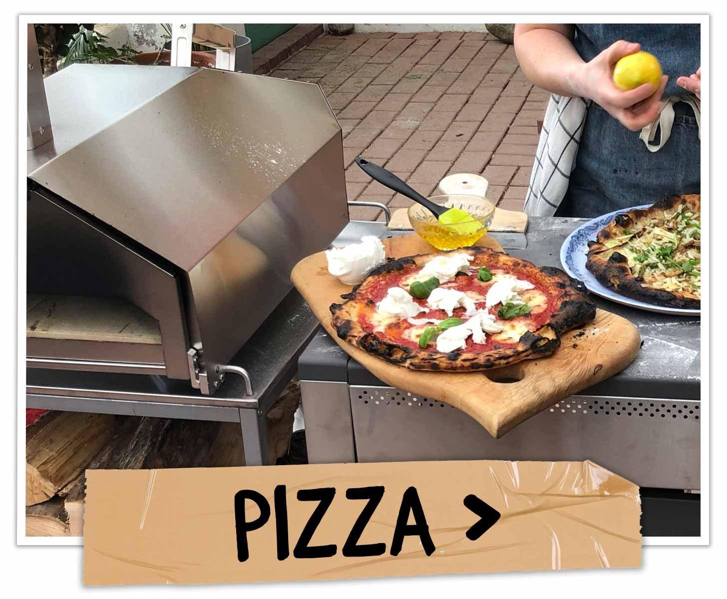 Grillskole - Pizza på grillen