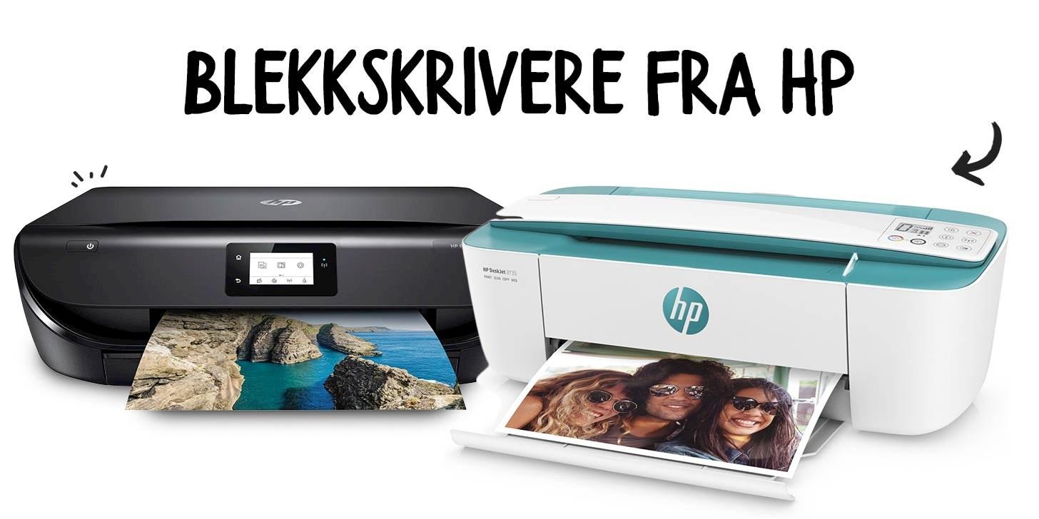 Se våre blekkskrivere fra HP