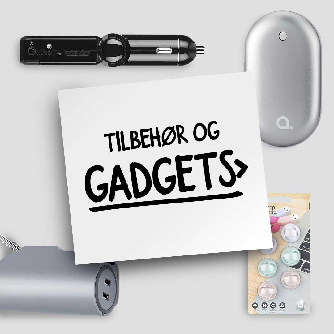 Tilbehør og gadgets