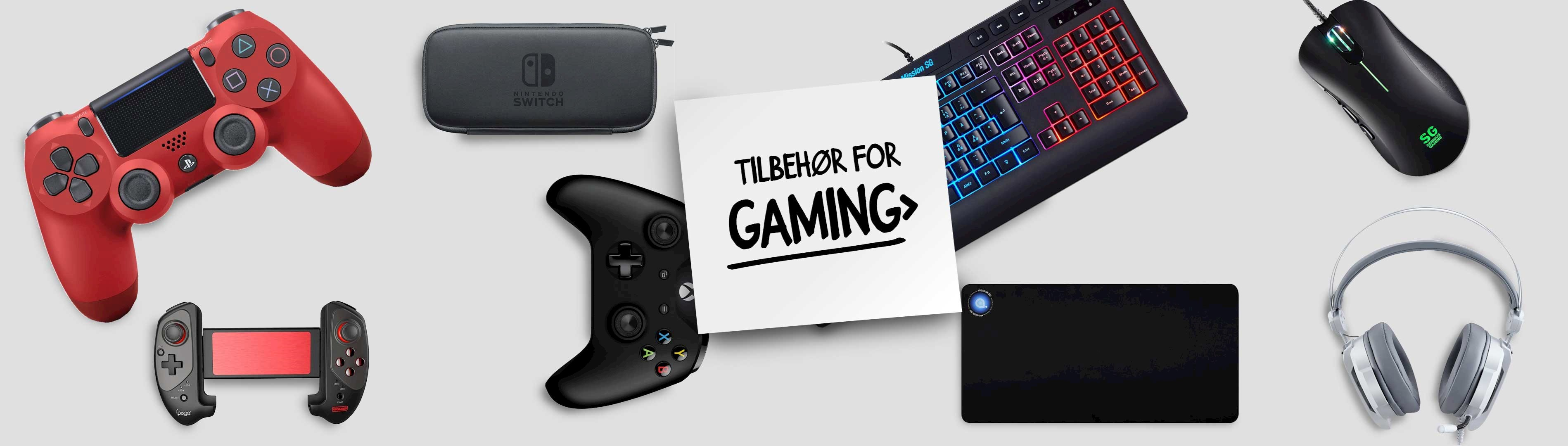 Tilbehør for gaming