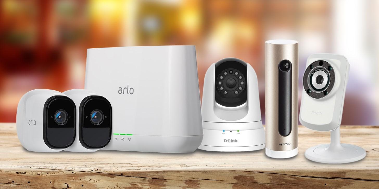 Kamera for opptak og overvåking av hjem og innganger